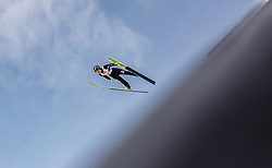 02.03.2019, Seefeld, AUT, FIS Weltmeisterschaften Ski Nordisch, Seefeld 2019, Skisprung, Mixed Team Bewerb, im Bild Lara Malsiner (ITA) // Lara Malsiner of Italy during the mixed team competition in ski jumping of nordic combination of FIS Nordic Ski World Championships 2019. Seefeld, Austria on 2019/03/02. EXPA Pictures © 2019, PhotoCredit: EXPA/ Stefanie Oberhauser