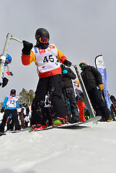 Europa Cup Finals Banked Slalom, WARD Rich, GBR at the 2016 IPC Snowboard Europa Cup Finals and World Cup