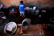 Pitangui_MG, Brasil...Mulheres lavadeiras em Pitangui, Minas Gerais...Laundress women in Pitangui, Minas Gerais...Foto: LEO DRUMOND / NITRO
