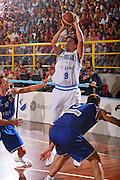 DESCRIZIONE : Cagliari Qualificazione Eurobasket 2009 Serbia Italia <br /> GIOCATORE : Marco Mordente <br /> SQUADRA : Nazionale Italia Uomini <br /> EVENTO : Raduno Collegiale Nazionale Maschile <br /> GARA : Serbia Italia Serbia Italy <br /> DATA : 20/08/2008 <br /> CATEGORIA : Tiro <br /> SPORT : Pallacanestro <br /> AUTORE : Agenzia Ciamillo-Castoria/S.Silvestri <br /> Galleria : Fip Nazionali 2008 <br /> Fotonotizia : Cagliari Qualificazione Eurobasket 2009 Serbia Italia <br /> Predefinita :
