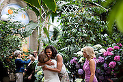23.MAY.2012. WASHINGTON<br /> <br /> FIRST LADY MICHELLE OBAMA AND DR. JILL BIDEN GREET GUESTS PRIOR TO A LUNCHEON WITH SENATE SPOUSES AT THE U.S. BOTANIC GARDEN IN WASHINGTON, D.C., MAY 23, 2012.  <br /> <br /> BYLINE: EDBIMAGEARCHIVE.CO.UK<br /> <br /> *THIS IMAGE IS STRICTLY FOR UK NEWSPAPERS AND MAGAZINES ONLY*<br /> *FOR WORLD WIDE SALES AND WEB USE PLEASE CONTACT EDBIMAGEARCHIVE - 0208 954 5968*
