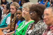 Volunteers in Public Schools recognition ceremony, May 14, 2015.