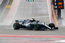 October 19, 2018 - Austin, United States - Motorsports: FIA Formula One World Championship; 2018; Grand Prix; United States, FORMULA 1 PIRELLI 2018 UNITED S GRAND PRIX , Circuit of The Americas#77 Valtteri Bottas (FIN, Mercedes AMG Petronas) (Credit Image: © Hoch Zwei via ZUMA Wire)
