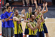 DESCRIZIONE : Madrid Eurolega Euroleague 2014-15 Final Four Semifinal Semifinale Real Madrid Fenerbahce Ulker Istanbul <br /> GIOCATORE : Team Fenerbahce Ulker Istanbul<br /> SQUADRA : Fenerbahce Ulker Istanbul<br /> CATEGORIA : ritratto delusione<br /> EVENTO : Eurolega 2014-2015<br /> GARA : Real Madrid Fenerbahce Ulker Istanbul <br /> DATA : 15/05/2015<br /> SPORT : Pallacanestro<br /> AUTORE : Agenzia Ciamillo-Castoria/GiulioCiamillo<br /> Galleria : Eurolega 2014-2015<br /> DESCRIZIONE : Madrid Eurolega Euroleague 2014-15 Final Four Semifinal Semifinale Real Madrid Fenerbahce Ulker Istanbul