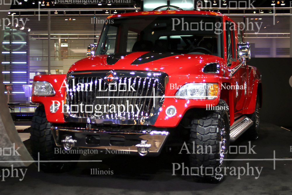 09 February 2006:   International MXT Concept Truck.....Chicago Automobile Trade Association, Chicago Auto Show, McCormick Place, Chicago IL