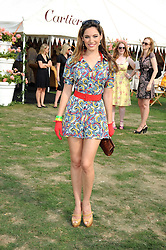 KELLY BROOK at the Cartier International Polo at Guards Polo Club, Windsor Great Park on 27th July 2008.<br />