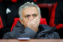 Manchester United manager Jose Mourinho - Mandatory by-line: Matt McNulty/JMP - 31/10/2017 - FOOTBALL - Old Trafford - Manchester, England - Manchester United v Benfica - UEFA Champions League Group A