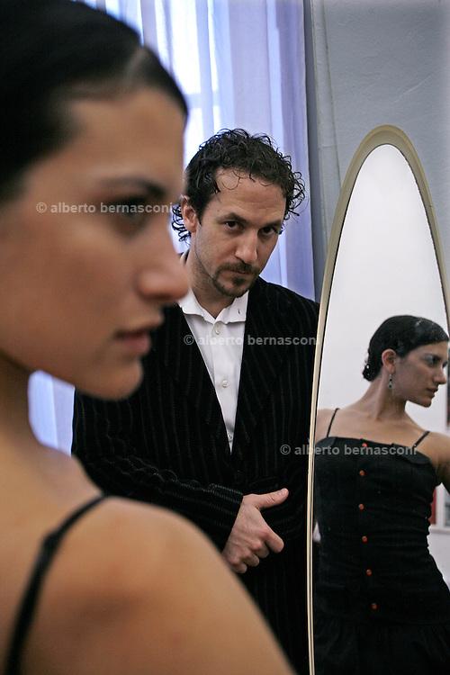 Italy, Genoa, Tango Festival: ..Italy, Genoa, Tango Festival:   the argentinian dancer Erica Boaglio e Adrian Aragon