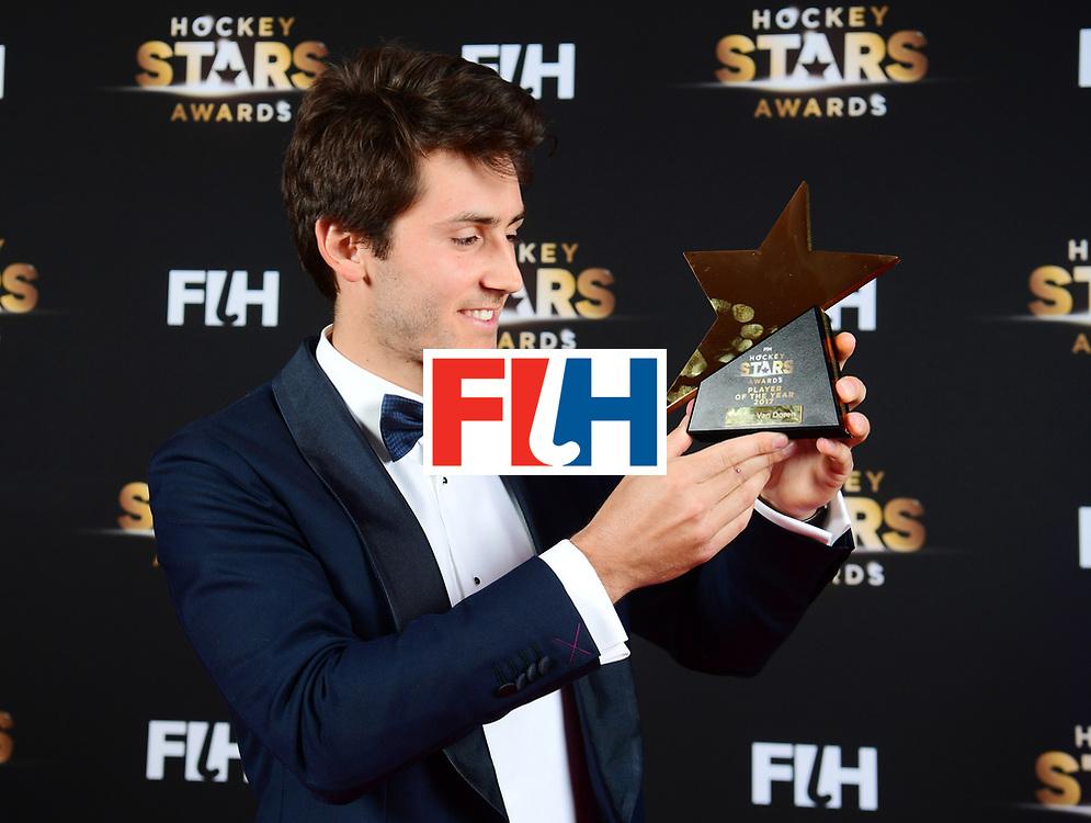 BERLIJN - FIH Hockey Stars Awards<br /> Foto: Male Player of the Year<br /> Arthur van Doren<br /> WORLDSPORTPICS COPYRIGHT FRANK UIJLENBROEK