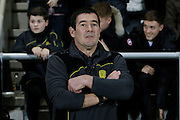 Burton Albion manager Nigel Clough during the EFL Sky Bet Championship match between Burton Albion and Fulham at the Pirelli Stadium, Burton upon Trent, England on 1st February 2017. Photo by Richard Holmes.