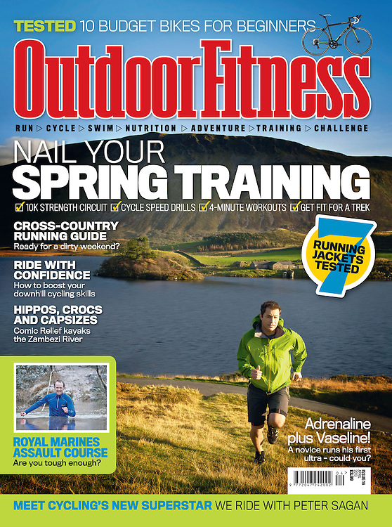 A collection of outdoor pursuits and active lifestyle images and front covers shot over the last 25 years from various locations around the world.