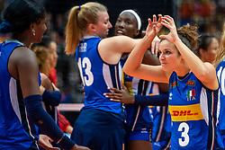 19-10-2018 JPN: Semi Final World Championship Volleyball Women day 18, Yokohama<br /> China - Netherlands / Carlotta Cambi #3 of Italy