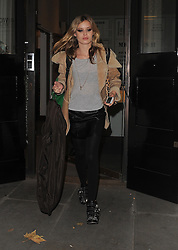 Model Georgia May Jagger leaving a photo studio in Chelsea, London, UK. 30/11/2013<br />