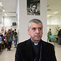 Mons. Soddu  visita Caritas Roma