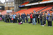Everyone is a photographer nowadays - Dundee United J-League Finals at Tannadice. .© David Young - www.davidyoungphoto.co.uk - email: davidyoungphoto@gmail.com