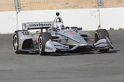September 14, 2018 - Sonoma, CA, U.S. - SONOMA, CA - SEPTEMBER 14: Josef Newgarden is seen during the Verizon IndyCar Series practice for the Grand Prix of Sonoma on September 14, 2018, at Sonoma Raceway in Sonoma, CA. (Photo by Larry Placido/Icon Sportswire) (Credit Image: © Larry Placido/Icon SMI via ZUMA Press)