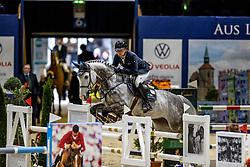KRIEG Niklas (GER), Quater past<br /> VEOLIA Championat<br /> Int. jumping competition with 1 jump-off (1.50 m) - CSI3*<br /> Comp. counts for the LONGINES Rankings<br /> Braunschweig - Classico 2020<br /> 07. März 2020<br /> © www.sportfotos-lafrentz.de/Stefan Lafrentz