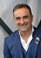 Carlos Carvalhal manager of Sheffield Wednesday during the Sky Bet Championship match at Hillsborough, Sheffield against Nottingham Forest<br /> Picture by Graham Crowther/Focus Images Ltd +44 7763 140036<br /> 31/10/2015