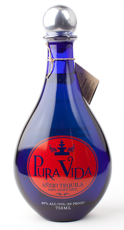 Pura Vida anejo -- Image originally appeared in the Tequila Matchmaker: http://tequilamatchmaker.com