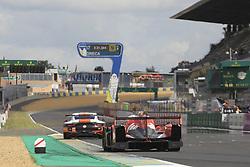 June 4, 2017 - Le Mans, France - 17 IDEC SPORT RACING (FRA) LIGIER JSP217 GIBSON LMP2 PATRICE LAFARGUE (FRA) PAUL LAFARGUE (FRA) DAVID ZOLLINGER  (Credit Image: © Panoramic via ZUMA Press)