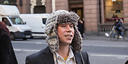 5 Feb 2018 - Lauri Love arrives at the Royal Courts of Justice, where he faces extradition to the US