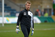Will Puddy (goalkeeper) of Bristol Rovers during the Sky Bet League 2 match between Wycombe Wanderers and Bristol Rovers at Adams Park, High Wycombe, England on 27 February 2016. Photo by Dennis Goodwin.