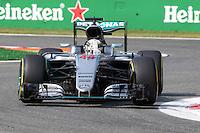 Lewis Hamilton - Mercedes -  Monza 02.09.2016 - Formula 1 Gran Premio d'Italia- Prove Libere