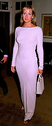 Fashion writer MISS KATE REARDON, at a party in London on 1st September 1998.MJN 8