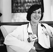 BIRMINGHAM, AL - JUNE 25, 2009: A palliative care professional at the University of Alabama at Birmingham.