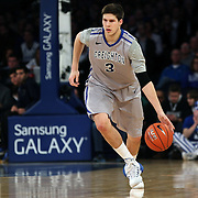 Doug McDermott, Creighton, in action during the Creighton Bluejays Vs Providence Friars basketball game during the Big East Conference Tournament Final at Madison Square Garden, New York, USA. 15th March 2014. Photo Tim Clayton