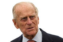 © Licensed to London News Pictures. 05/06/2013. London, UK. Prince Philip, Duke of Edinburgh is seen talking about maritime preservation as he visits the SS Robin steamship, a ship in which he was instrumental in saving, at the Royal Victoria Dock in East London today (05/06/2013). The royal visit marks the the beginning of the last round of renovation work to the lottery supported SS Robin which is the world's oldest steamship and last of her kind. Photo credit: Matt Cetti-Roberts/LNP