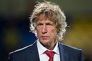 WAALWIJK, RKC Waalwijk - AZ, voetbal Eredivisie, seizoen 2013-2014, 17-08-2013, Mandemakers Stadion, AZ trainer Gertjan Verbeek.