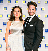 Architectural Digest editor Margaret Russell and interior designer Nate Berkus at the HRC's Greater NY Gala 2014 held at the Waldorf=Astoria in New York City on Saturday, February 8, 2014. (Photo: JeffreyHolmes.com) Nate Berkus and Jeremiah Brent