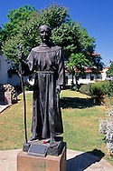 Statue of Father Sera, Mission San Luis Obispo, San Luis Obispo, CALIFORNIA