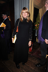 The COUNTESS OF ST.GERMANS at a party to celebrate the publication of Kitchenella by Rose Prince held at Blacks, 67 Dean Street, London W1 on 16th September 2010.
