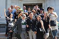 Civil partnership ceremony 2013