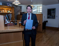 Pictured:  Neil Bibby, MSP, and his Bill<br />