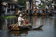 Boatman - Xitang, Zhejiang, China
