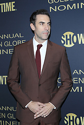 January 5, 2019 - West Hollywood, CA, USA - LOS ANGELES - JAN 5:  Sacha Baron Cohen at the Showtime Golden Globe Nominees Celebration at the Sunset Tower Hotel on January 5, 2019 in West Hollywood, CA (Credit Image: © Kay Blake/ZUMA Wire)