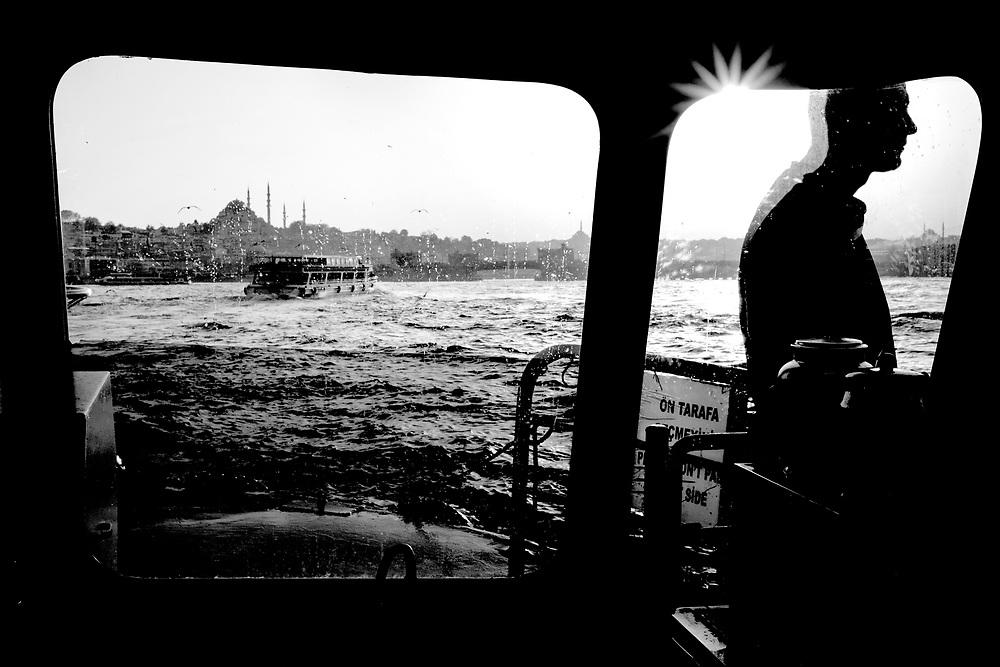 Bosporus is a natural border between Asia and Europe. Photo: Magnus Sundberg / Kontinent