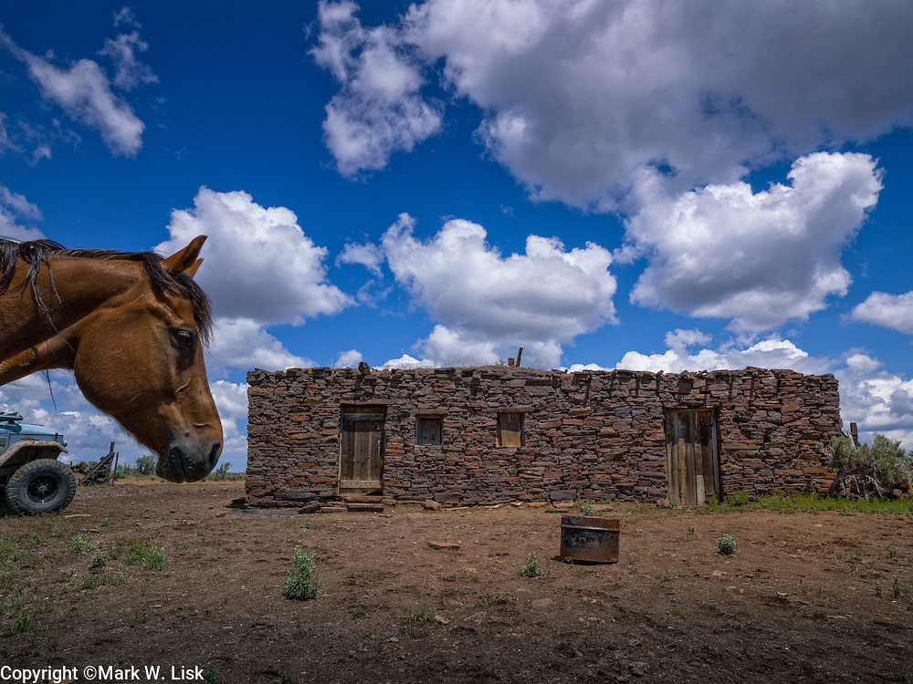 The old historic out building at the Dickshooter ranch adds an authentic western flare to the Owyhee desert.