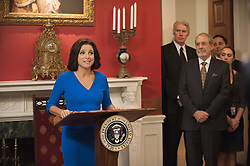 RELEASE DATE: 2012 - Season 5-6<br /> TITLE: Veep<br /> STUDIO: HBO<br /> DIRECTOR: Armando Iannucci<br /> PLOT: Former Senator Selina Meyer finds that being Vice President of the United States is nothing like she hoped and everything that everyone ever warned her about<br /> STARRING: Julia Louis-Dreyfus<br /> (Credit: © HBO/Entertainment Pictures/ZUMAPRESS.com)