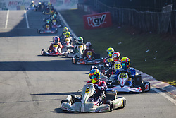 June 23, 2018 - Cotia, Brazil - COTIA, SP - 23.06.2018: OPEN BRASILEIRO DE KART - Open Brazilian Kart Championship being held this weekend at Kartódromo Granja Viana, in Cotia, in Greater São Paulo and already has more than 170 registered drivers. The competition is the final preparation before the 53rd Brazilian Kart, which for the first time will also be hosted at the KGV between July 9 and 21. (Credit Image: © Emerson Santos/Fotoarena via ZUMA Press)