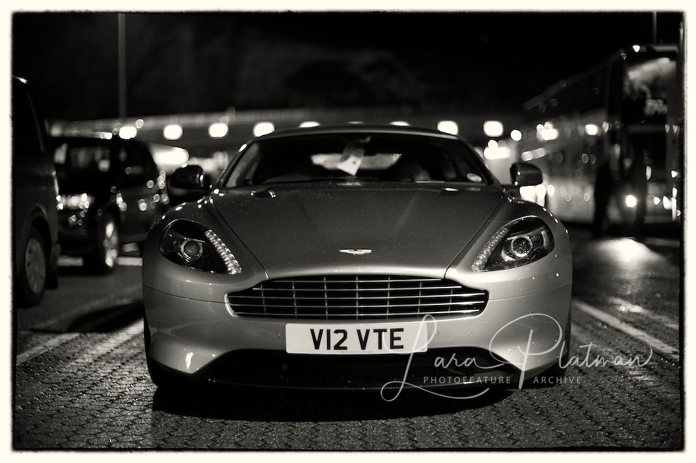 Aston Martin & Leica Roadtrip On the ferry We had priority on/off with P&O ferries