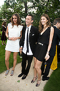 SASHA VOLKOVA DAN MACMILAN AND GENIE SLYUSAREMKO, Raisa Gorbachev Foundation Party, at the Stud House, Hampton Court Palace on June 7, 2008 in Richmond upon Thames, London,Event hosted by Geordie Greig and is in aid of the Raisa Gorbachev Foundation - an international fund fighting child cancer.  7 June 2008.  *** Local Caption *** -DO NOT ARCHIVE-© Copyright Photograph by Dafydd Jones. 248 Clapham Rd. London SW9 0PZ. Tel 0207 820 0771. www.dafjones.com.
