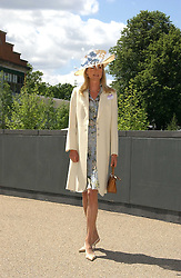 LUCY SANGSTER at the 3rd day - Ladies Day of Roayl Ascot 2006 on 22nd June 2006.<br />