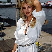 NLD/Amsterdam/20070610 - Presentatie Playboy's Playmates Collectors Special Edition, playmate en model Melisa Schaufeli