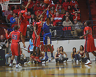 "Kentucky's Terrence Jones (3)  shoots at the C.M. ""Tad"" Smith Coliseum in Oxford, Miss. on Tuesday, February 1, 2011. Ole Miss won 71-69."