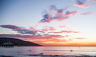 Malibu California sunrise