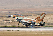 IAF F16I Fighter jet at take off